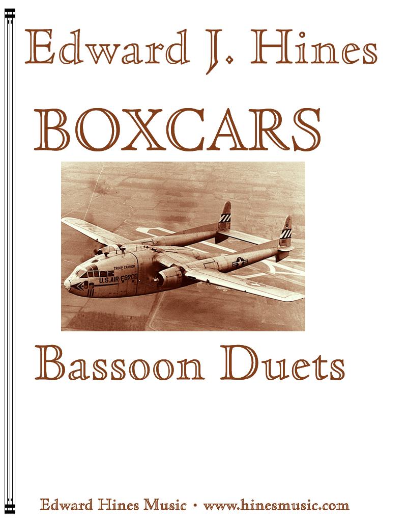 Boxcars Bassoon Duets- hinesmusic.com