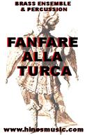 Brass Ensemble Music: Fanfare Alla Turca
