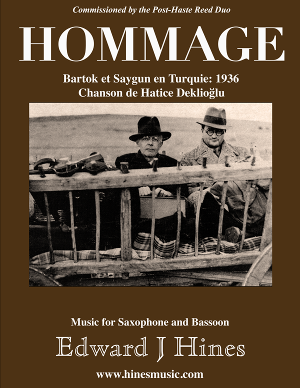Bassoon and Soprano Sax: Hommage Bartok and Saygun