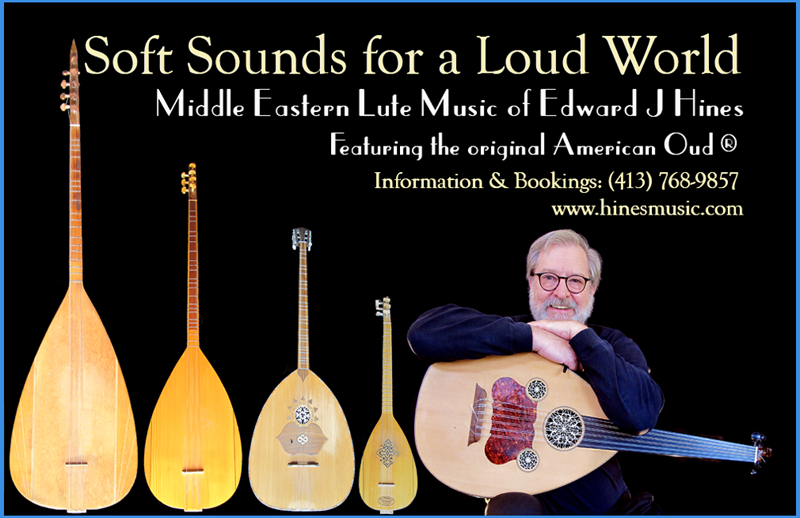 Middle Eastern lutes of Edward J. Hines
