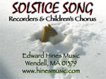 Music for Recorders and Voices: Solstice Song