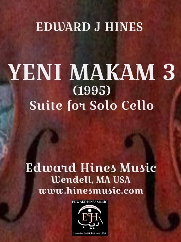 Yeni Makam 3: Cello Sheet Music