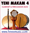 Clarinet and World Percussion Music: Yeni Makam 4